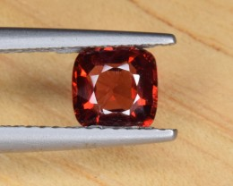 Natural Spinel 0.74 Cts, Sparkling Red Color from Burma