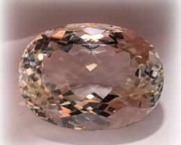 31.61ct Brilliant Silver White Topaz - Sparkling gem NR