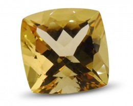 2.63 ct Cushion Heliodor / Yellow Beryl