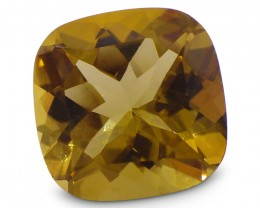 3.49 ct Cushion Heliodor / Yellow Beryl