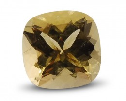 3.68 ct Cushion Heliodor / Yellow Beryl