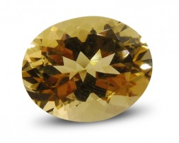 2.94 ct Oval Heliodor / Yellow Beryl