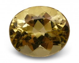 4.74 ct Oval Heliodor / Golden Beryl
