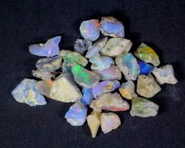 61.5Cts Ethiopian Welo Rough Opal Parcel Lot