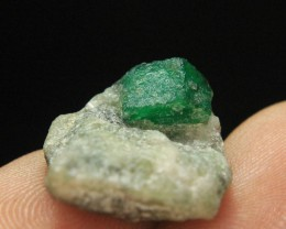 Natural Small Swat Emerald Specimen From Pakistan