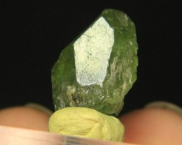 Rare Natural Diopside Crystal From Afghanistan