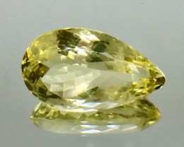 25.11 Crt Natural Lemon Quartz Faceted Gemstone.( AG 56)