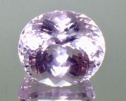 18.68 Crt Natural Kunzite Top luster Faceted Gemstone.( AG 56)