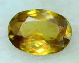 No Reserve  ~  1.60 ct Oval Cut  Fire Sphene titanite From Skrdu Paksitan