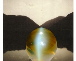 20ct Cat's Eye Chrysoberyl Transparent