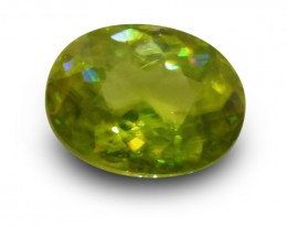 1.85 ct Oval Sphene - $1 No Reserve Auction!