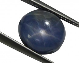 3.49 ct Oval Star Sapphire - $1 No Reserve Auction