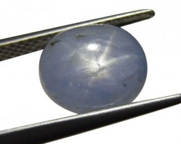 4.55 ct Oval Star Sapphire-$1 No Reserve Auction