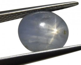 4.91 ct Oval Star Sapphire- $1 No Reserve Auction