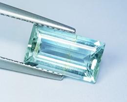 """2.40 ct """"Amazing Gem"""" Excellent Octagon Cut Natural Aquamarine"""