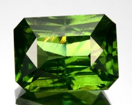 7.35 Cts Natural Green Zircon Octagon Srilanka