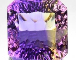 9.82 Cts Natural Bi-Color Ametrine Millennium Octagon Bolivia