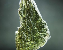 Glossy Genuine Moldavite with CERTIFICATE