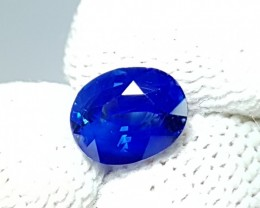 UNHEATED 1.42 CTS STUNNING OVAL MIX ROYAL BLUE SAPPHIRE SRI LANKA