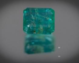 Green Emerald  1.29 ct Zambia GPC Lab