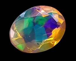 0.80CT FACETED OPAL HIGH FIRE  BEST QUALITY GEMSTONE IGC513