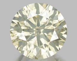 2.30 CT DIAMOND TOP CLASS LUSTER WITH GOOD COLOR D1