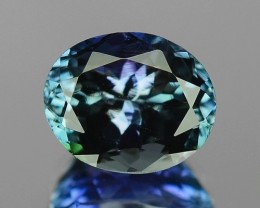 1.84 CT TANZANITE HIGH QUALITY GEMSTONE TZ40
