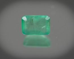 Green Emerald  1.48 ct Zambia GPC Lab