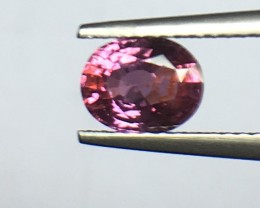 1.25ct Natural Pink Sapphire
