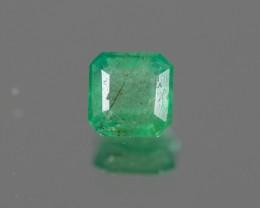 Green Emerald  1.30 ct Zambia GPC Lab