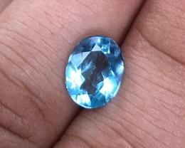 3.70 cts VVS Aquamarine - Jewelry Grade - Top Color!