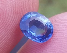 GIL certified 0.95 carats Royal blue sapphire