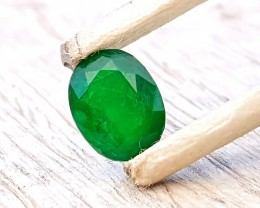 1.45 Ct Natural Dark Green Emerald Gemstone