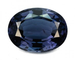 3.52 Cts Natural Blue Spinel Oval Tanzania