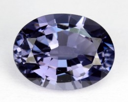 1.77 Cts Natural Blue Spinel Oval Tanzania