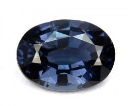 0.86 Cts Natural Blue Spinel Oval Srilanka