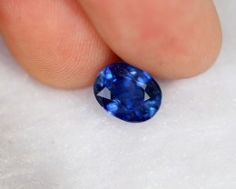 2.27cts Royal Blue Oval Cut Sapphire