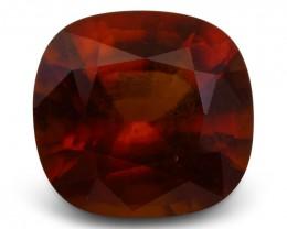 5.11 ct Square Hessonite Garnet