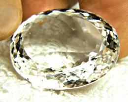 98.41 Carat VVS White African Quartz - Gorgeous