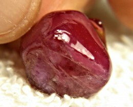 36.48 Carat Fiery Ruby Rough - Gorgeous