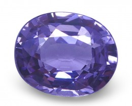 1.47 ct Oval Purple Spinel