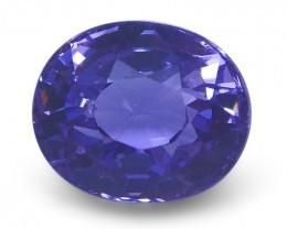 1.32 ct Oval Violet Spinel