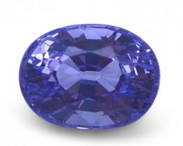 1.24 ct Oval Violet Spinel