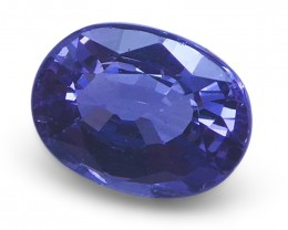 1.03 ct Oval Violet Spinel - $1 NR Auction