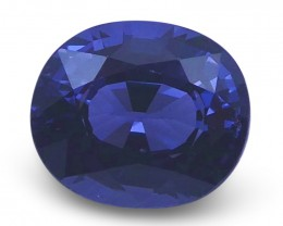 1.40 ct Oval Blue Spinel