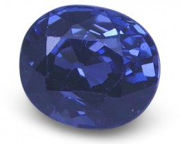 1.12 ct Oval Blue Spinel - $1 No Reserve Auction