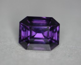 Gorgeous violet spinel in a very nicely cut VS quality stone.  Better than eye clean gem.   About the nicest violet I've seen in spinel.    Please see the video to see all the internal reflection flashing out this violet color.