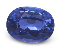 1.41 ct Oval Blue Spinel