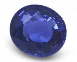 1.33 ct Oval Blue Spinel