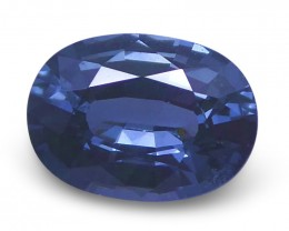 1.04 ct Oval Blue Spinel